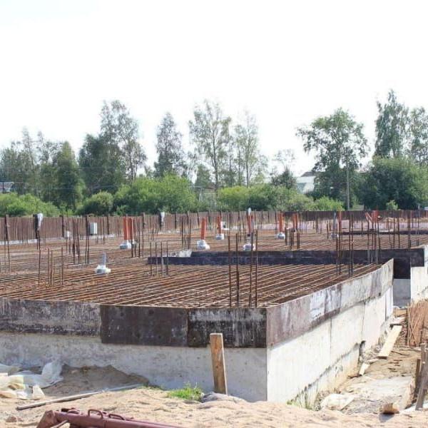 Стройка новые дома жилой комплекс Румболово-Сити