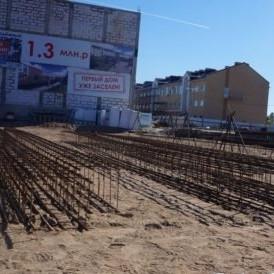 Строительство домов ЖК Румболово-Сити